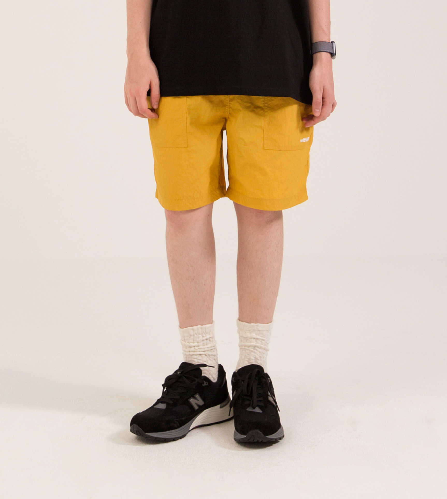 FATIGUE EASY SHORTS MUSTARD