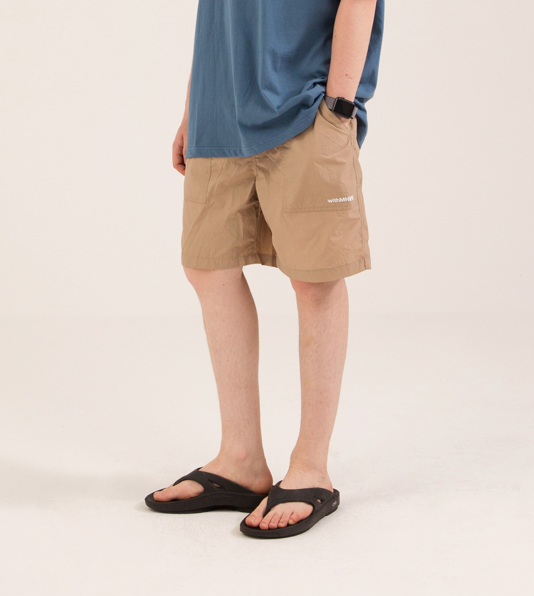 [50%] FATIGUE EASY SHORTS BEIGE