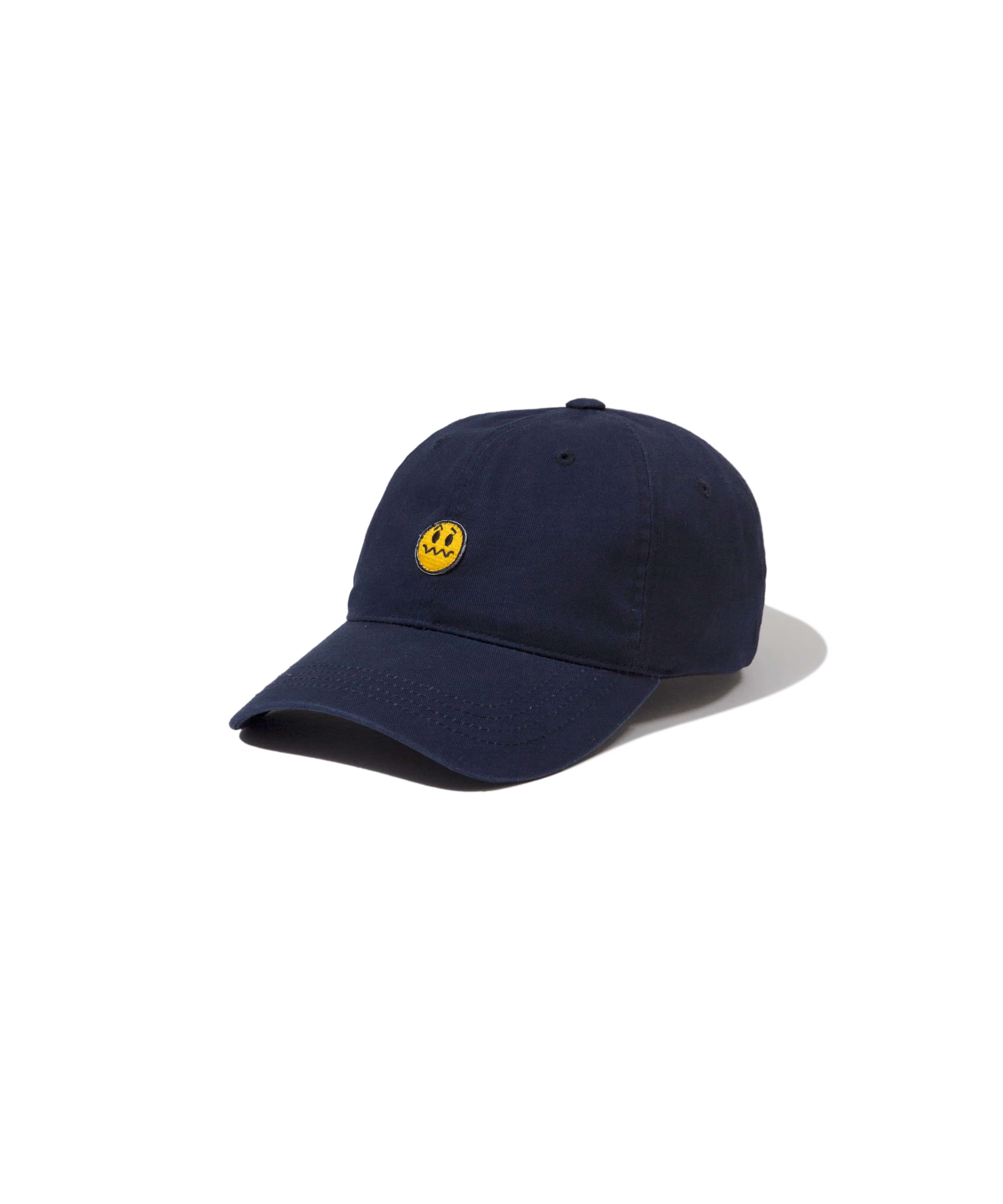 [추석특가50%] UNSMILE 6PANEL BALL CAP NAVY