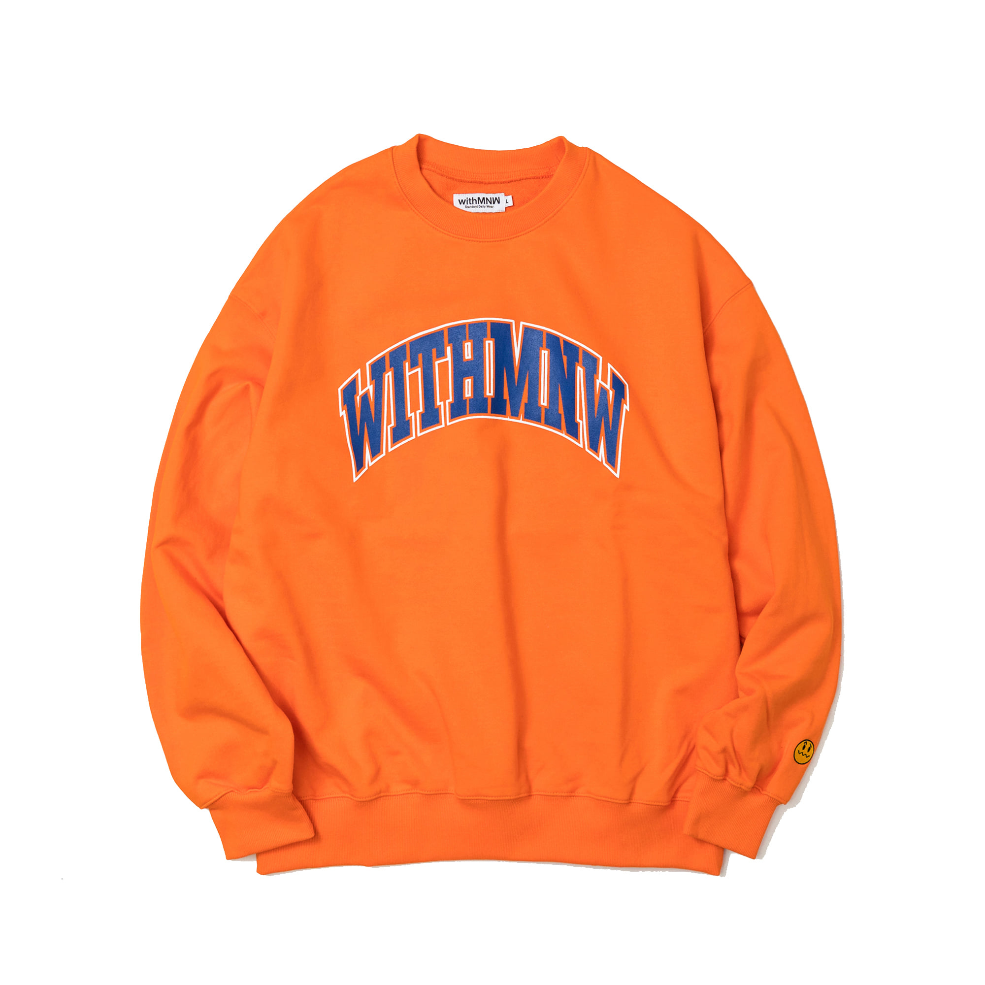 [35%] ARCH LOGO CREWNECK ORANGE