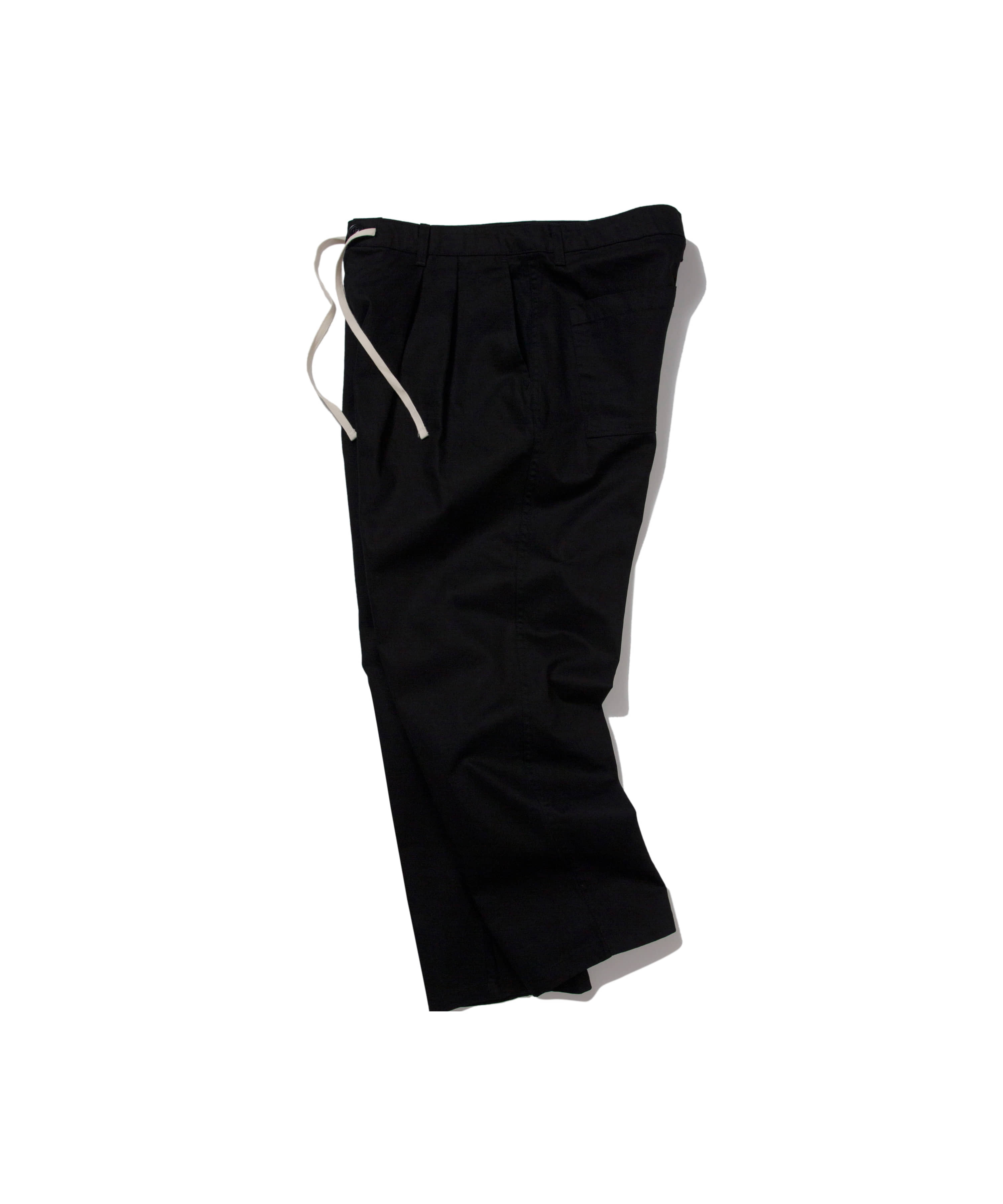 [타임세일] TUCK CHINO PANTS BLACK