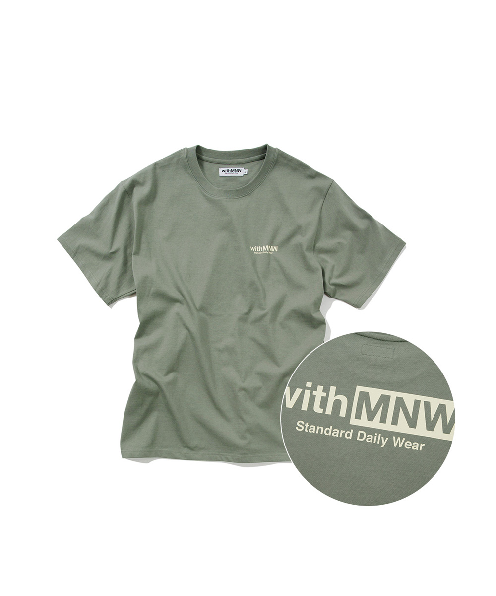 [추석특가50%] SDW LOGO T-SHIRT GREY
