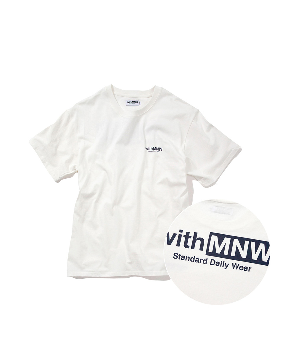 [추석특가50%] SDW LOGO T-SHIRT WHITE
