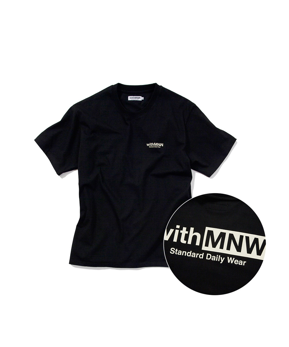 [추석특가50%] SDW LOGO T-SHIRT BLACK