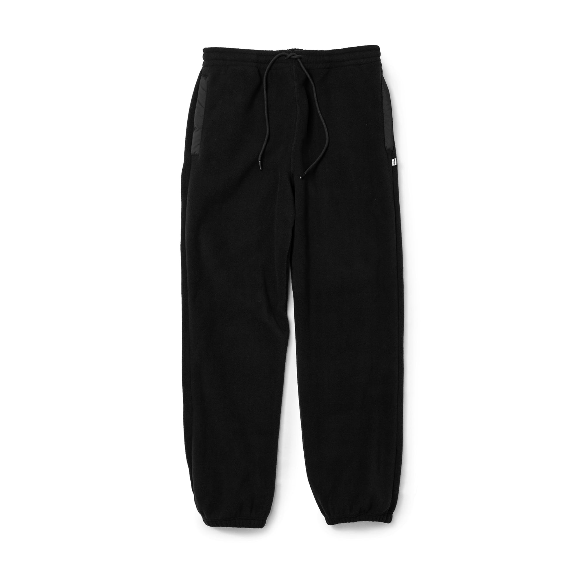 [40%] FLEECE PANTS BLACK