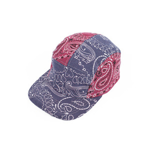 campcap with Hav-a-hank patchwork