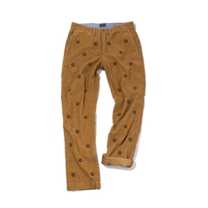 SMILE PANTS [ Golden brown ]